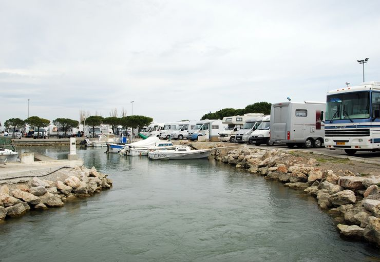 Aire Camping-Car – Base fluvial Paul Riquet in Palavas-les-Flots
