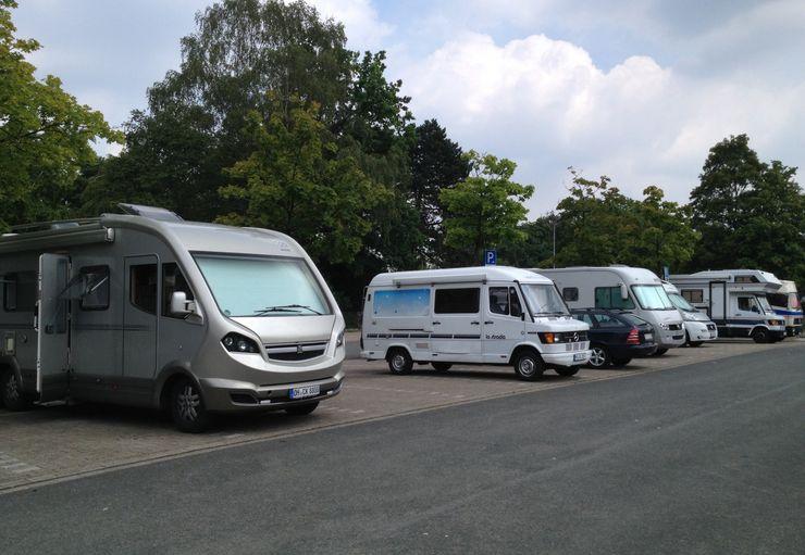 Münster Wohnmobilstellplatz